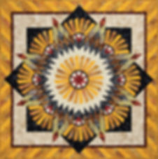Judy Niemeyer Quilt Kit and Pattern Tarnished Windmill Kit