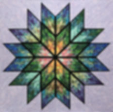 Judy Niemeyer Quilt Kit and Pattern Prismatic Star Kit