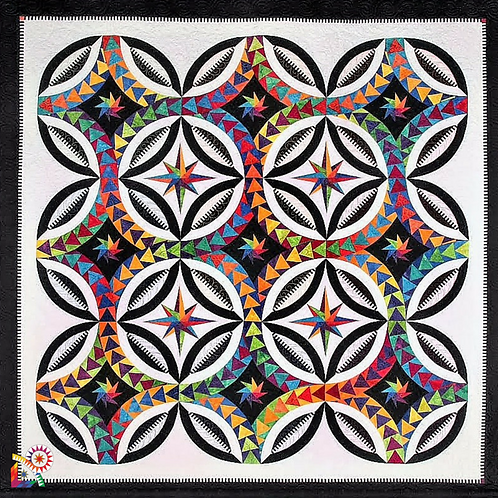 Fanciful Flight - BeColourful Pattern