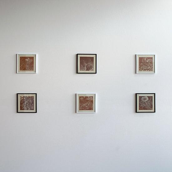 "framing for 6""x6"" block prints"