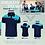Thumbnail: Victor T-shirt Unisex Blue