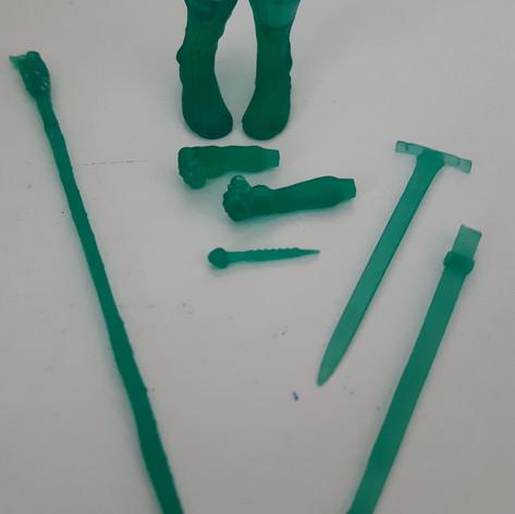 Minyatür Model Baskısı SLA