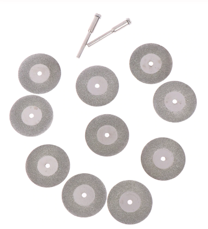 Gravür Elmas Disk Seti 12 parça
