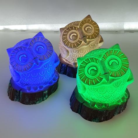 şirin baykuş gece lambası
