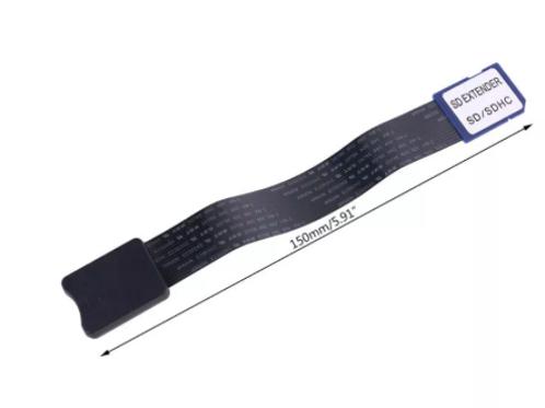 SD  Erkek - Micro SD TF Kart Dişi Uzatma Kablosu 15cm