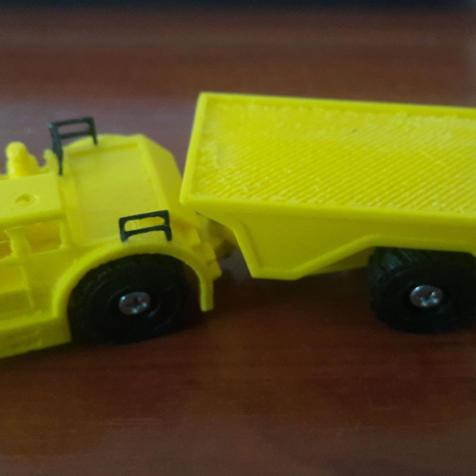 Ölçekli Maden Aracı-Taşıyıcı