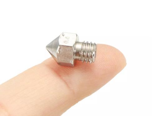 3D yazıcı nozzle paslanmaz çelik (Çap Seçenekli)