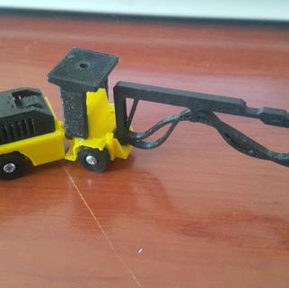 Ölçekli Maden Aracı-Shotcrete