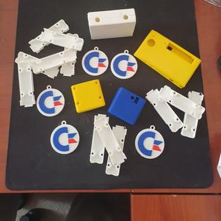 Commodore 64 ve Retro konsol parçaları