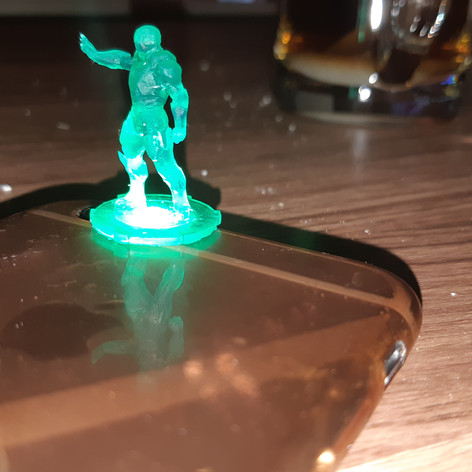 SLA Baskı Iron Man