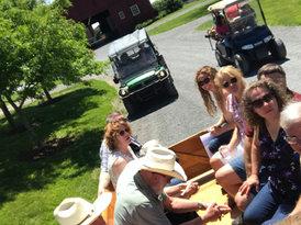 Hayrides at Ledyard Farm