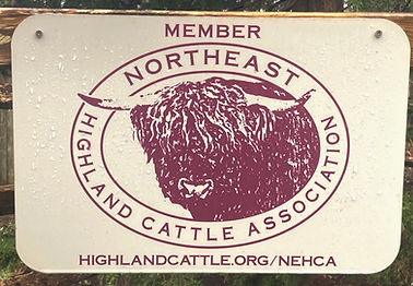 NEHCA Barn Sign