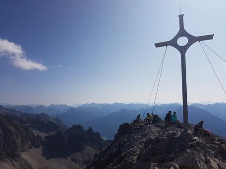 Großer Krottenkopf (2656m) - der höchste Allgäuer Gipfel