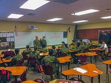 JROTC Classroom