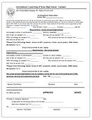 Facility Reservations Form