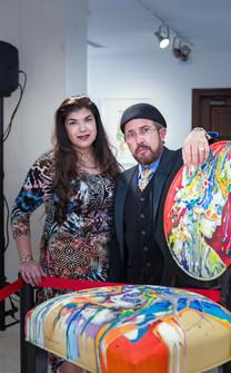Artists Gina Muxó Ramos & Orestes Bouzón