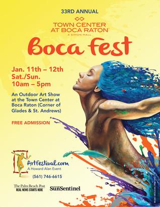 Media Ad for Town Center Art Fair