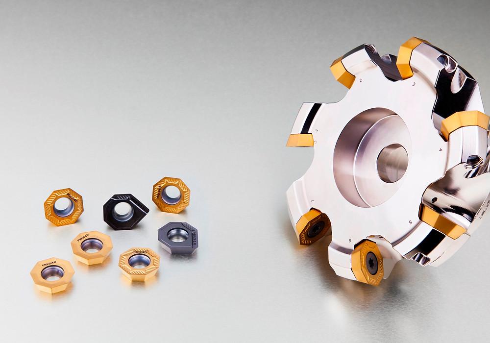Pramet OEHT 09 face milling range
