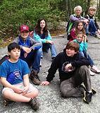 Montessori of Camden Elementary students