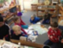 Montessori of Camden students in classroom