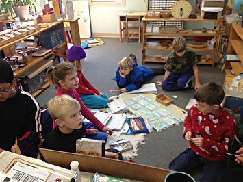 Montessori of Camden students in classroom