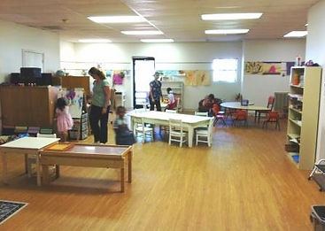 Montessori of Camden Extended Day students in classroom