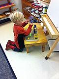 Montessori of Camden Primary student