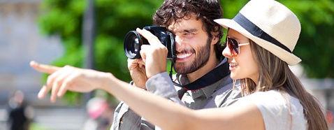 coppia turisti
