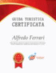 un certificato