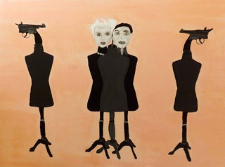 Le Vrai Sens de l'amour (c) 2016, Acrylic on canvas