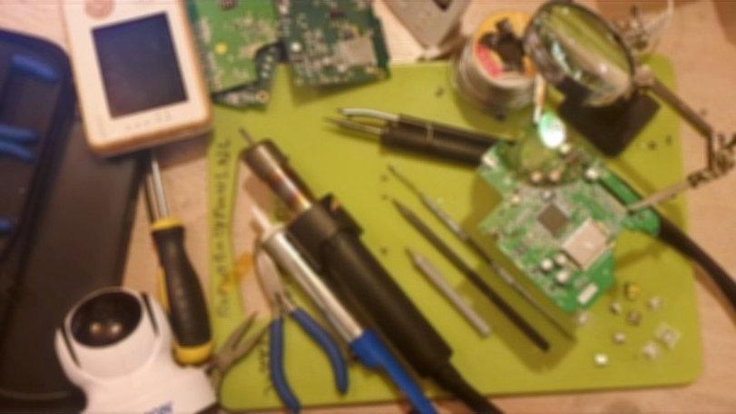 Babyfoon - reparatieslot - Adapter aansluiting