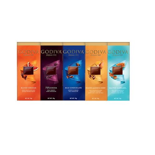 Godiva Luxury Chocolate Bars