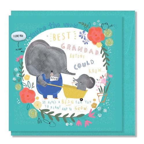 Best Grandad Card