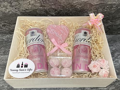 Pink Gordons Gin Set