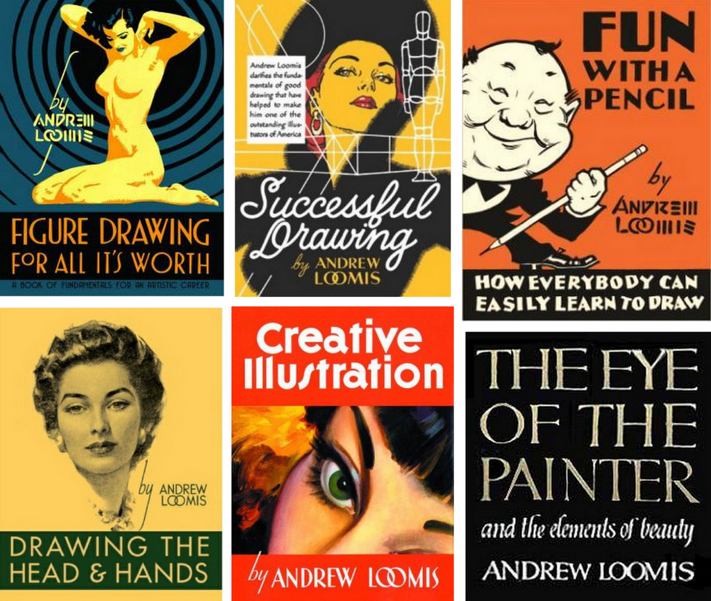 Andrew Loomis Books Resources
