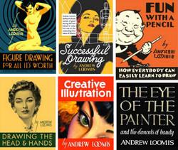 Andrew Loomis Books Resources