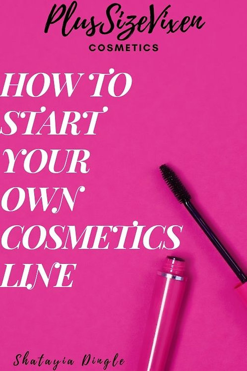 How To Start Your Own Cosmetics Line?