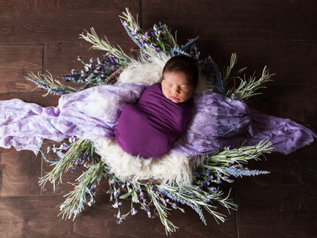 Beautiful Leela! Denton Newborn Photographer