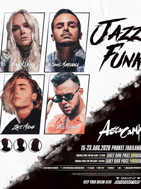 Jazz Funk Class - Asia Camp 2020