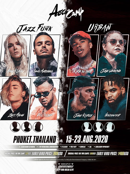 Jazz Funk & Urban - Asia Camp 2020