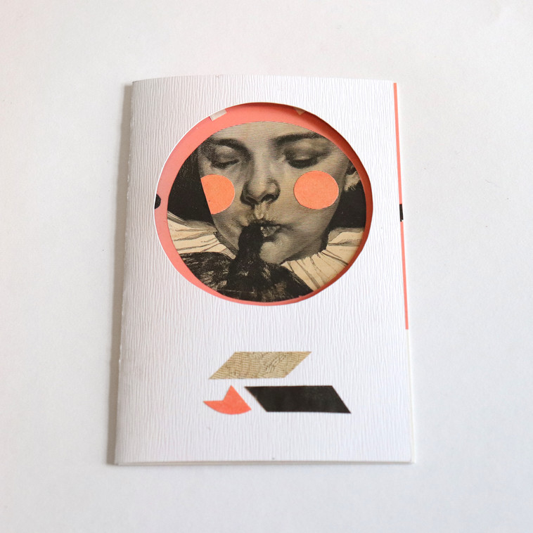 Closed card + Postcard inside