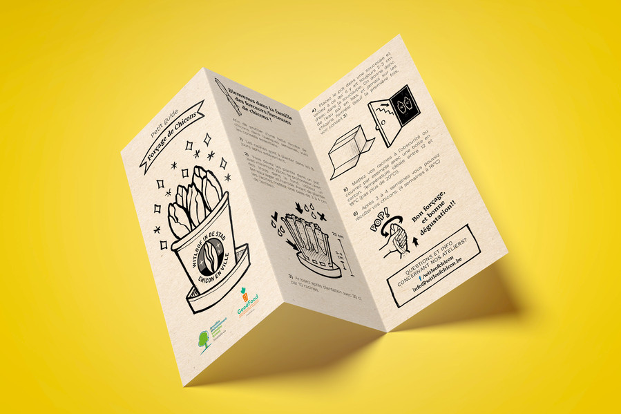 Leaflet Illustration and design
