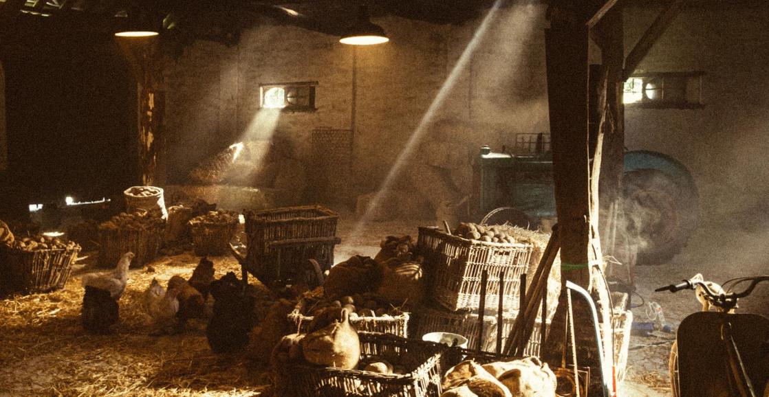 Barn Interior - Office