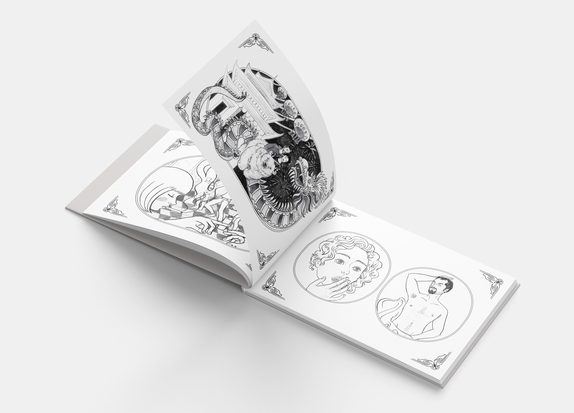 Illustrated Story Book