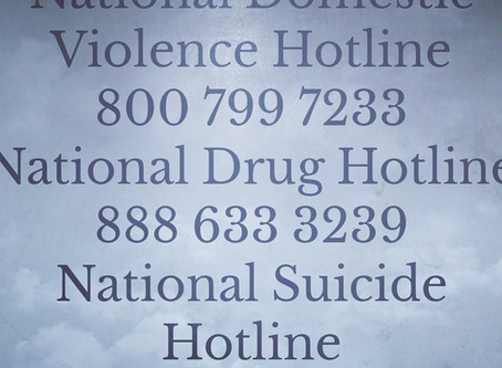 IMPORTANT PHONE NUMBERS