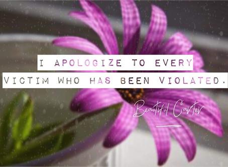 """IM SORRY"""