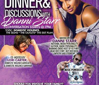 DINNER AND DISCUSSIONS WITH DANNI STARR
