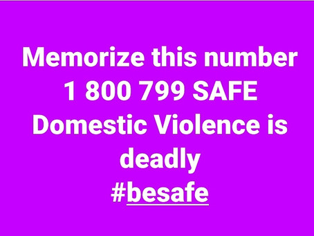 PLEASE BE SAFE