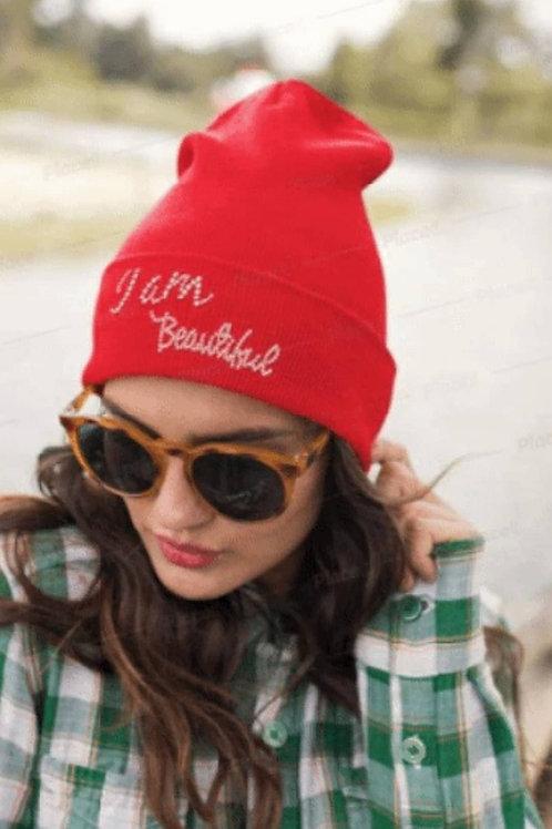 """""""I AM BEAUTIFUL"""" Hats"""