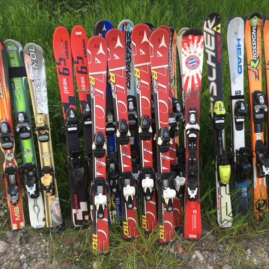 Préparation des skis